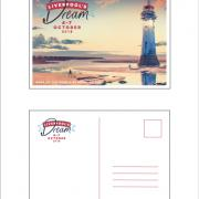 Liverpool's Dream  Giant Postcard (A5)